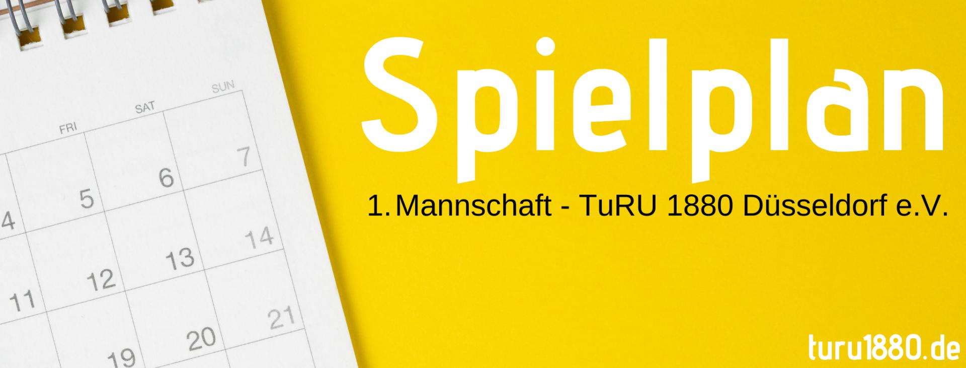 Spielplan - TuRU 1880 - Oberliga Niederrhein