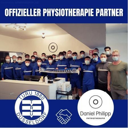 TuRU geht partnerschaft mit Daniel Philipp Physiotherapie ein